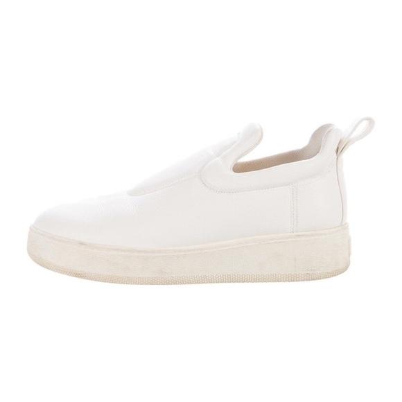 c80cabc90d0f Celine Shoes - Celine platform slip-on sneakers white leather 39